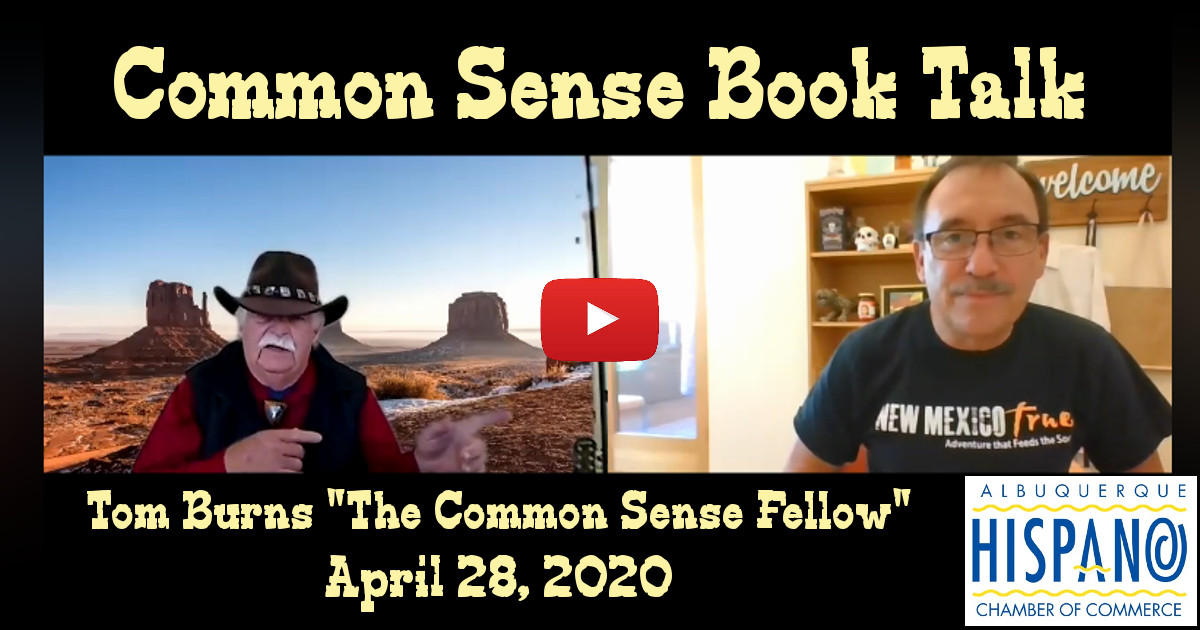 Book Signing Event with Tom Burns The Common Sense Fellow ABQ