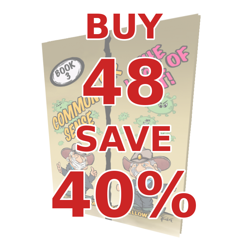 Common Sense Book 3: Bulk Buy 48 Save 40%